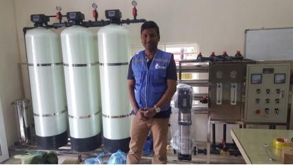 Hệ thống lọc nước RO do Anthy sản xuất